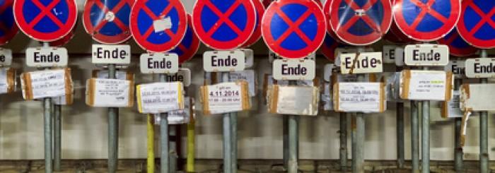 Halteverbote – für einen reibungslosen Umzug in Berlin
